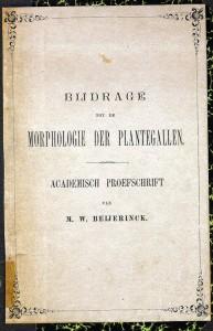 Beijerinck's thesis