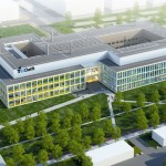 Artist's impression of the new Faculty building