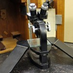 leitz preparation or stereo microscope