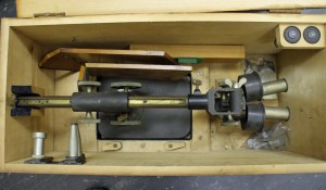Early Zeiss preparation or dissecting microscope